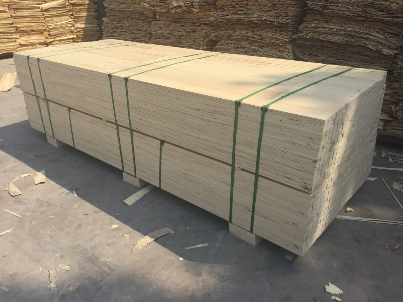 LVL plywood for wooden pallet
