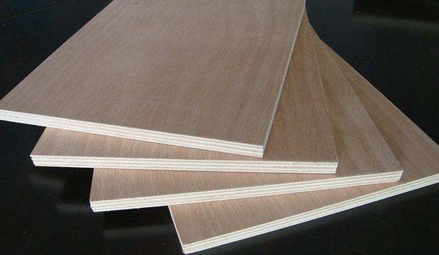 two time hot pressing commercial plywood