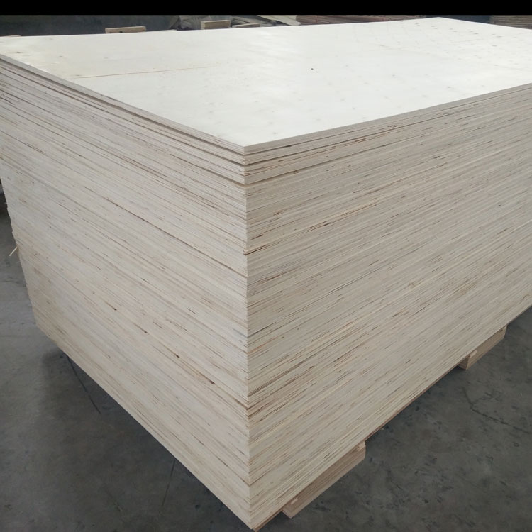 one time hot pressing commercial plywood