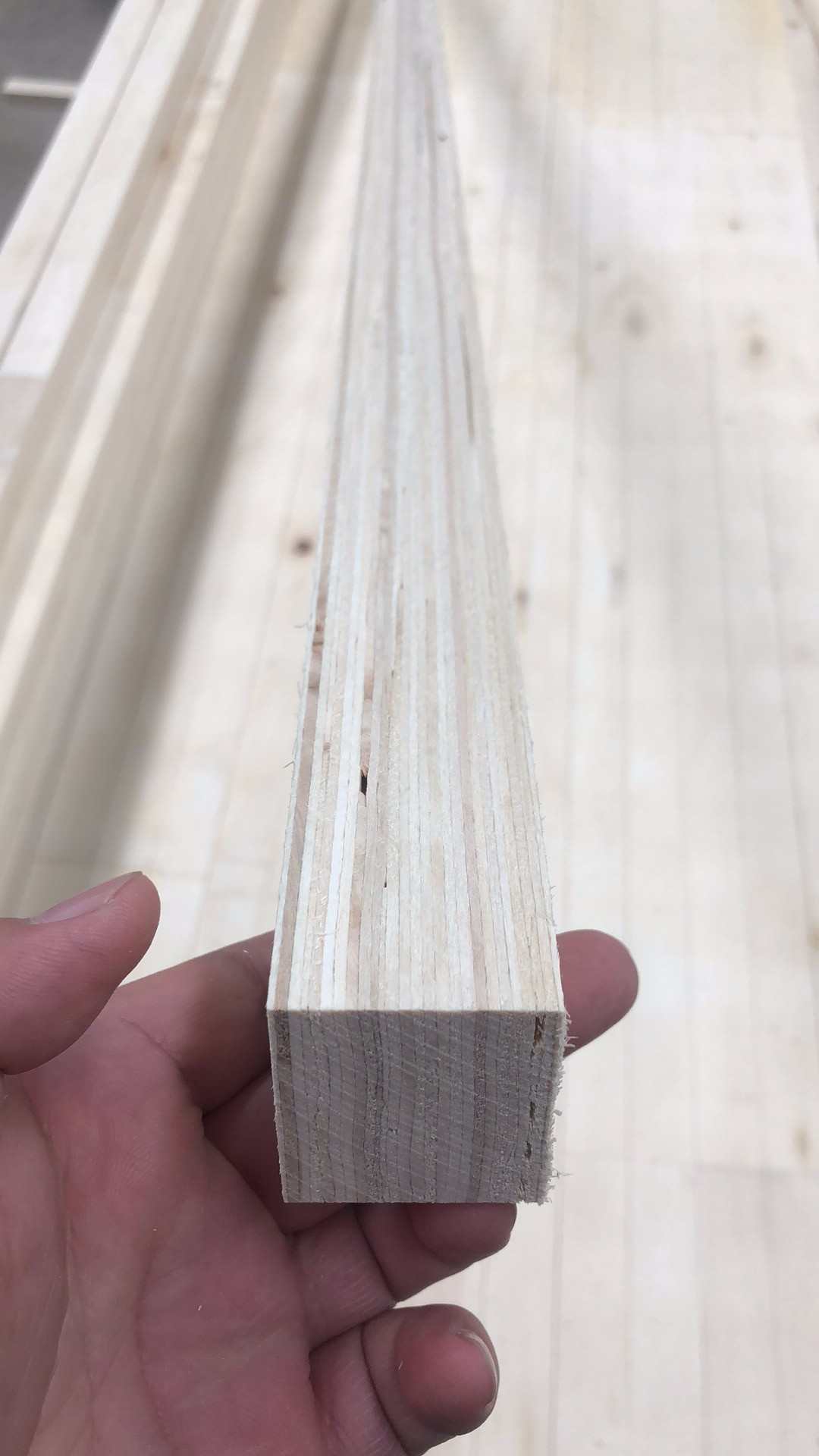 poplar core high density LVL for door core